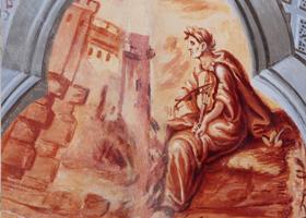 Restaurierung von Wandmalerei