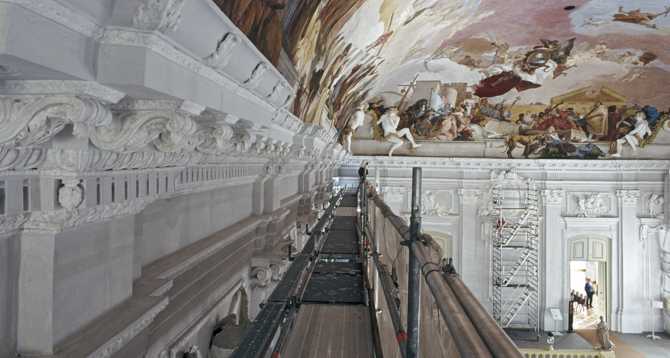 Restaurierung Fürstbischöfliche Residenz Würzburg