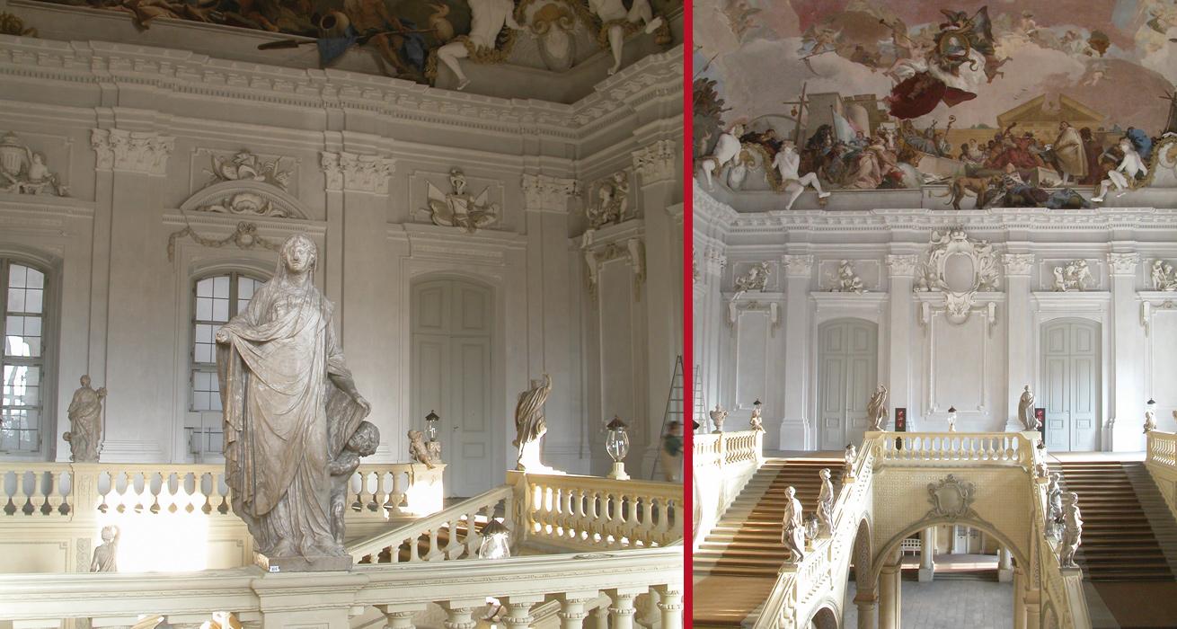 Restaurierung Treppenhaus - Fürstbischöfliche Residenz Würzburg