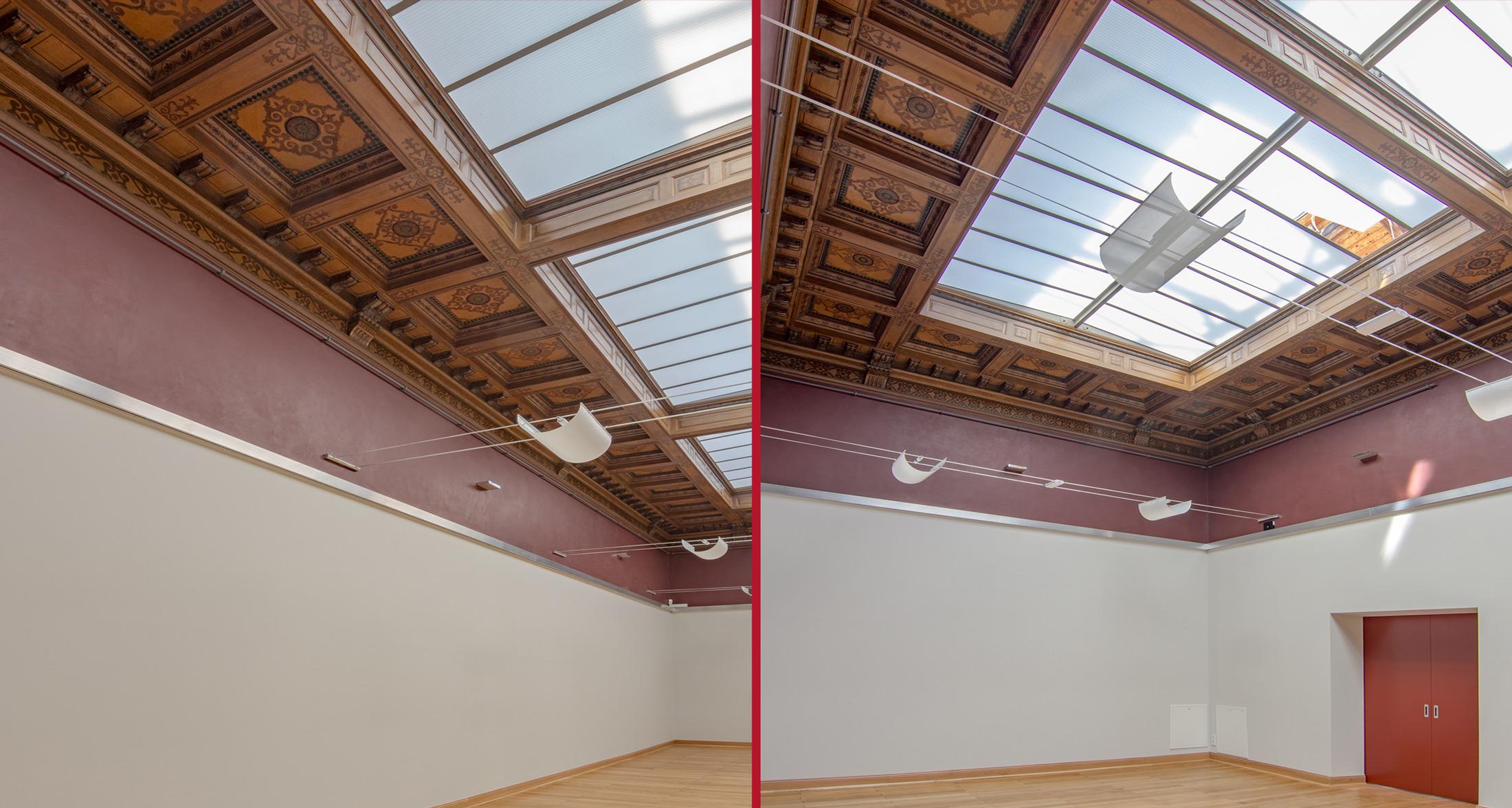 Raumimpressionen im Schlusszustand - Galerie am Domhof Zwickau
