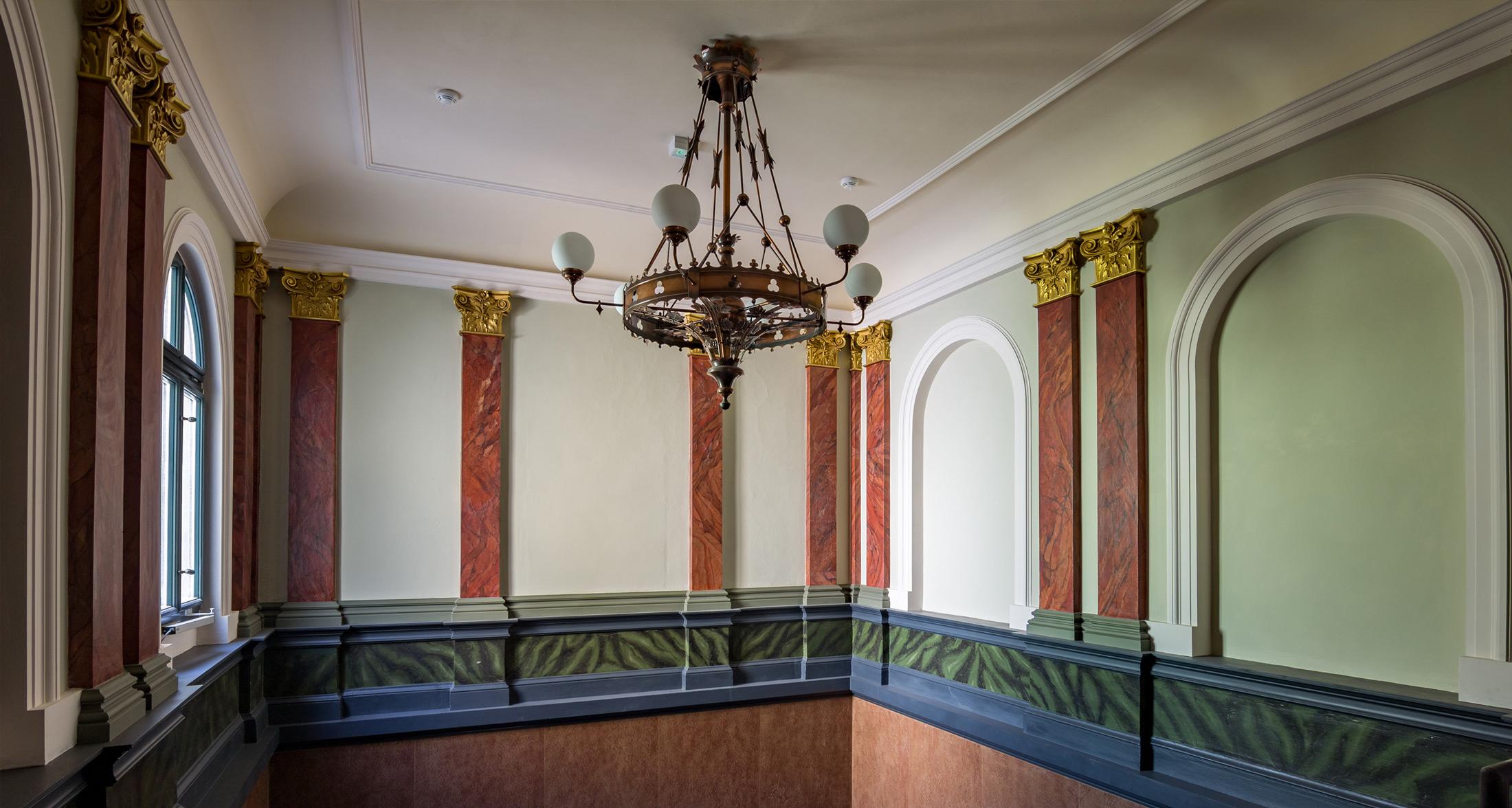 Treppenhaus im Schlusszustand - Galerie am Domhof Zwickau