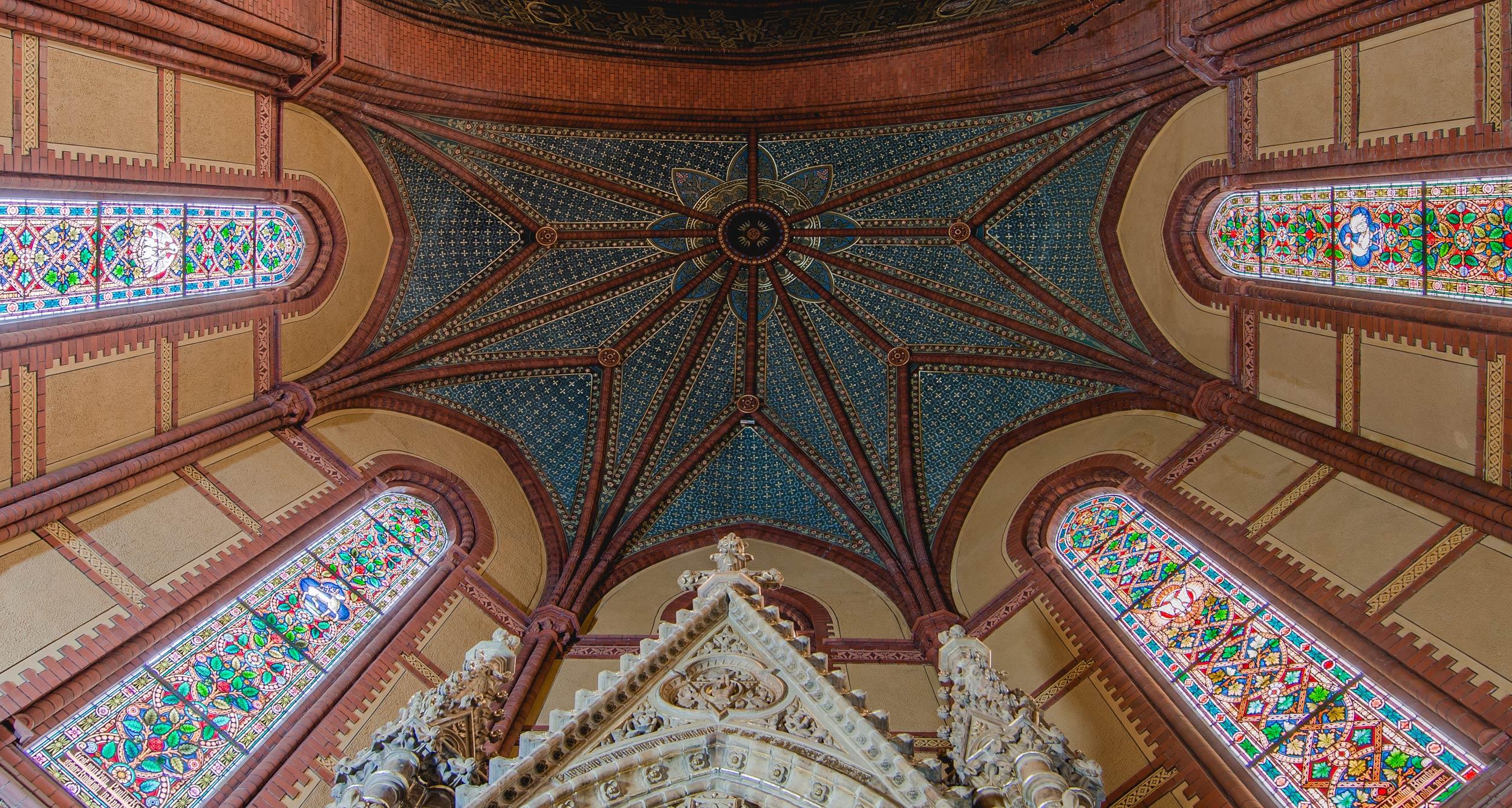 Chorgewölbe im Schlusszustand - Lutherkirche Apolda