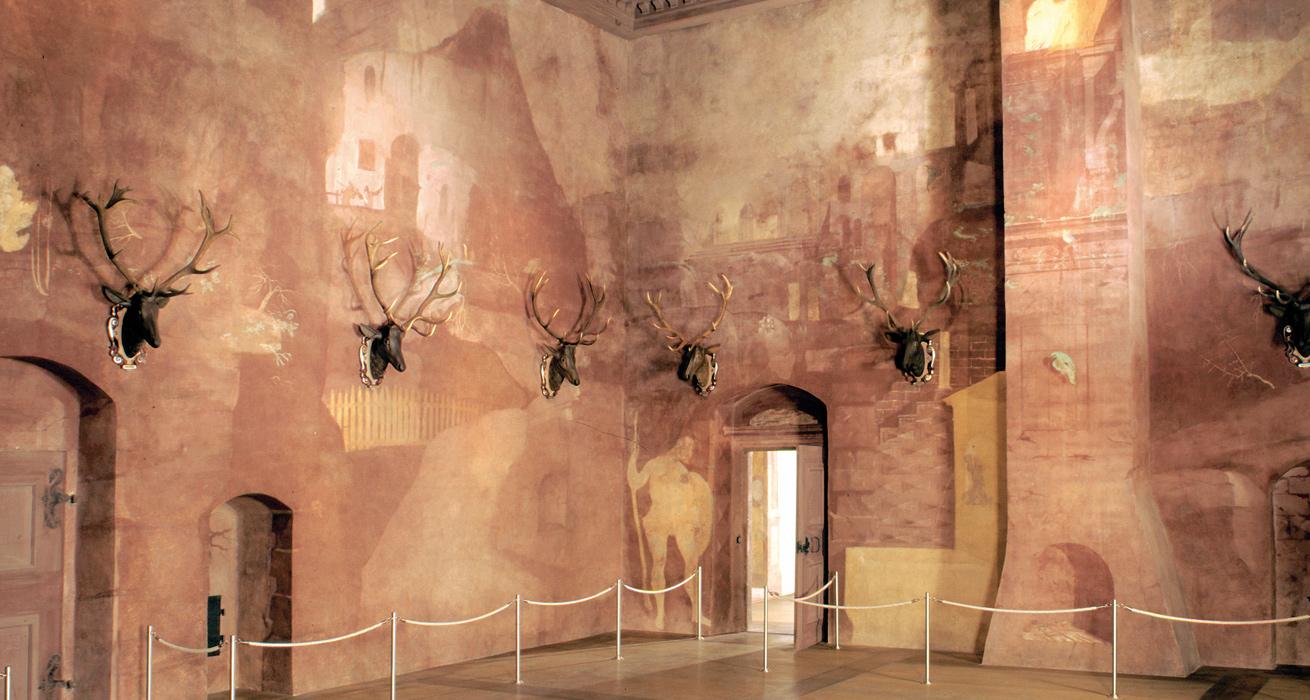 Restaurierung Wandmalerei - Venussaal Schloss Augustusburg, Sachsen