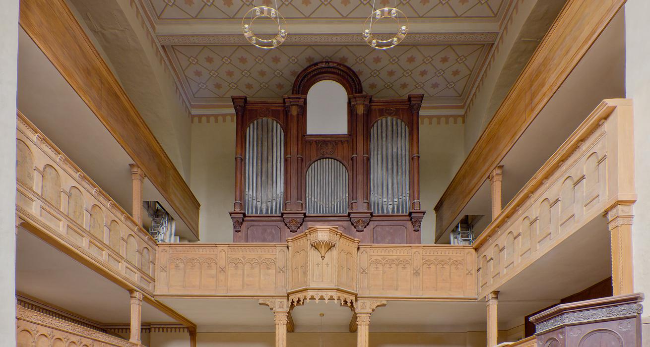 Innenansicht - Schlosskirche Goseck, Sanktuarium