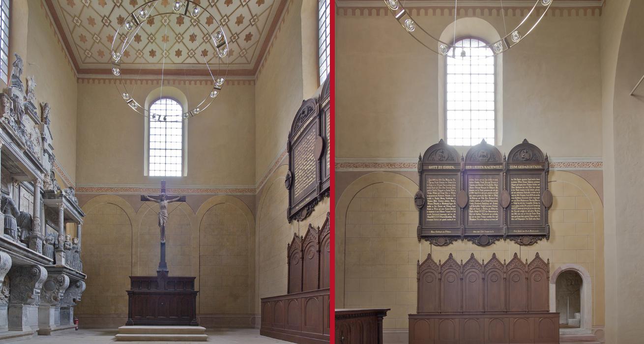 Altarraum - Schlosskirche Goseck, Sanktuarium