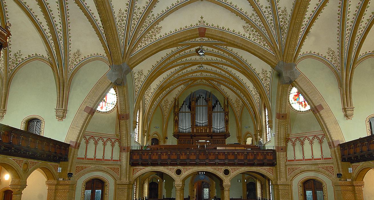 Innenraum - St. Trinitatis Kirche, Hainichen