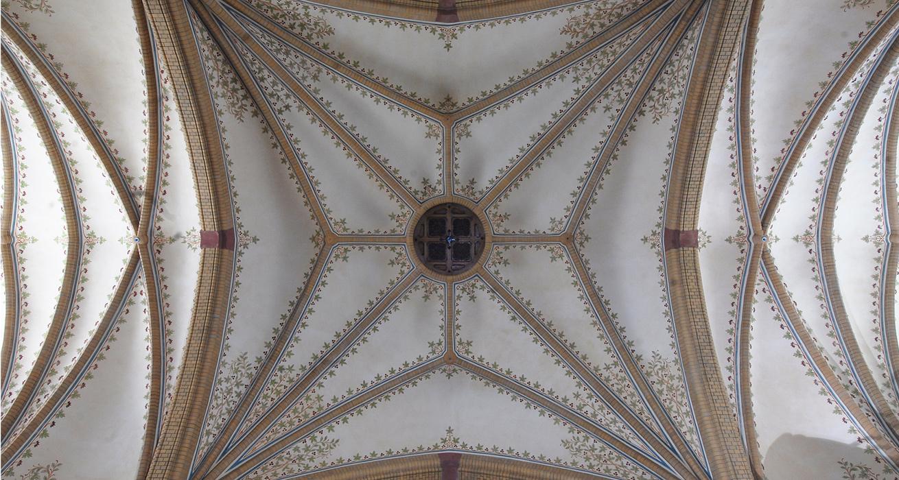 Deckenansicht - St. Trinitatis Kirche, Hainichen