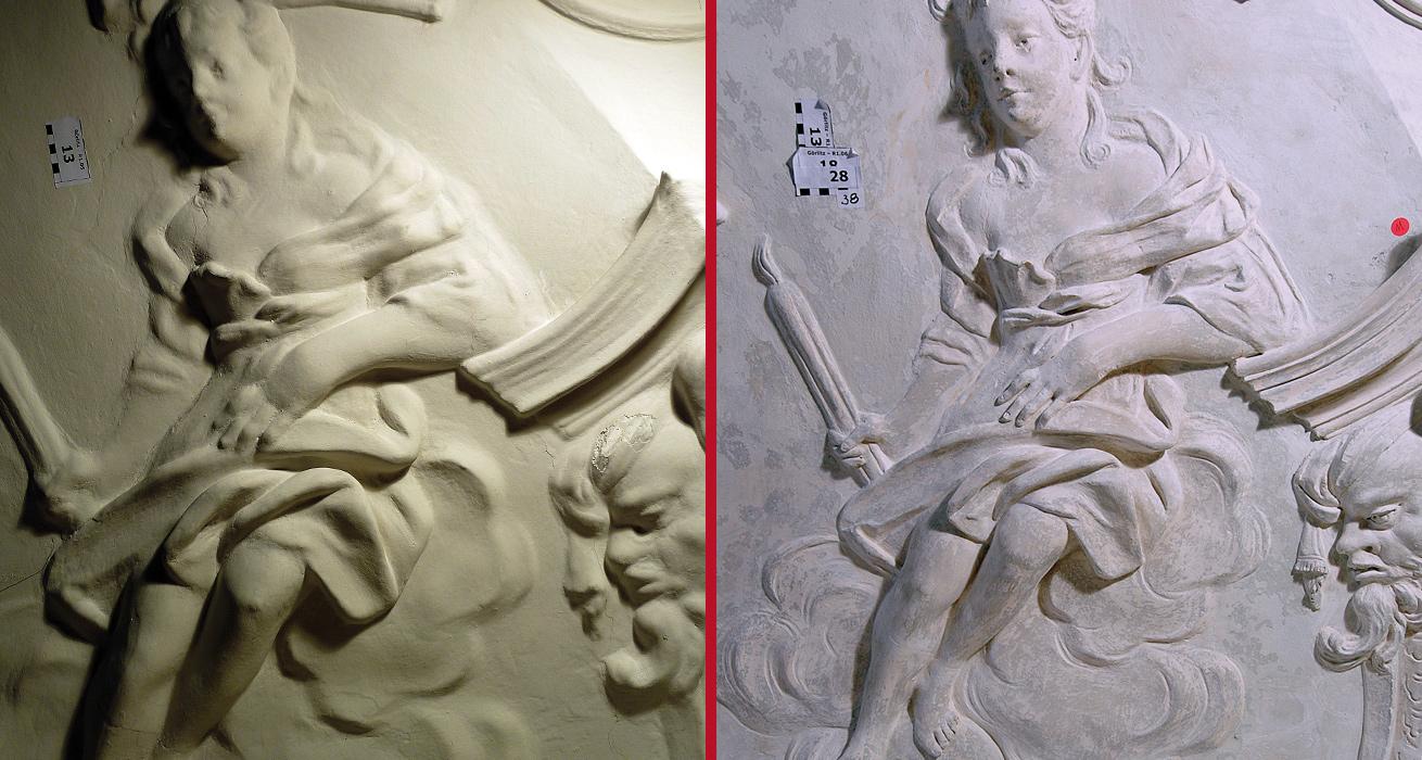 Detail, Vor und Schlusszustand - Kulturhistorisches Museum Görlitz