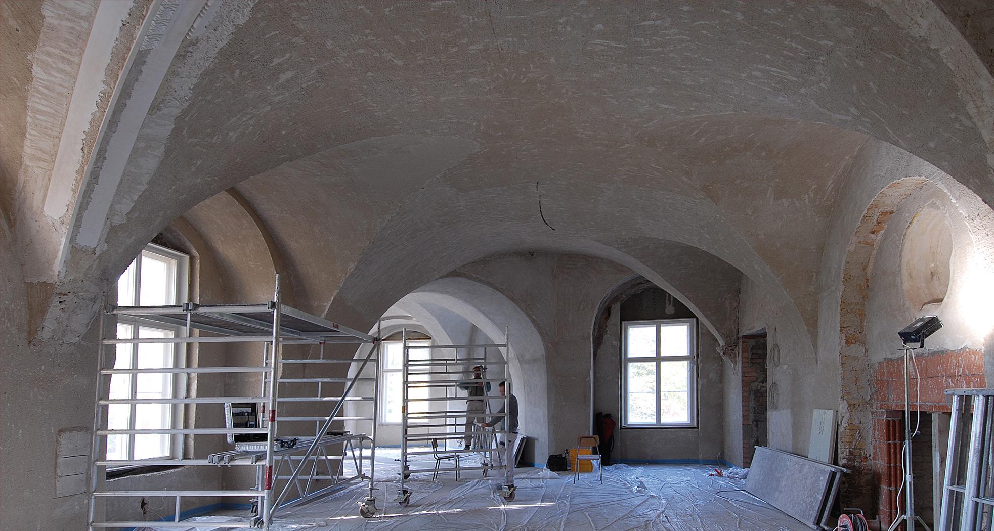 Übersichtsaufnahme – Vorzustand - Neues Schloss Bad Muskau