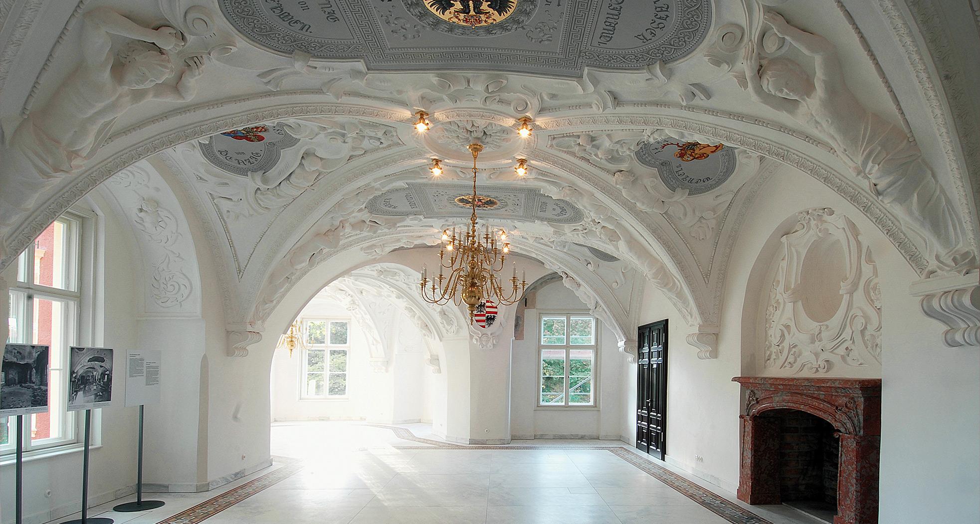 Übersichtsaufnahme - Schlusszustand - Neues Schloss Bad Muskau