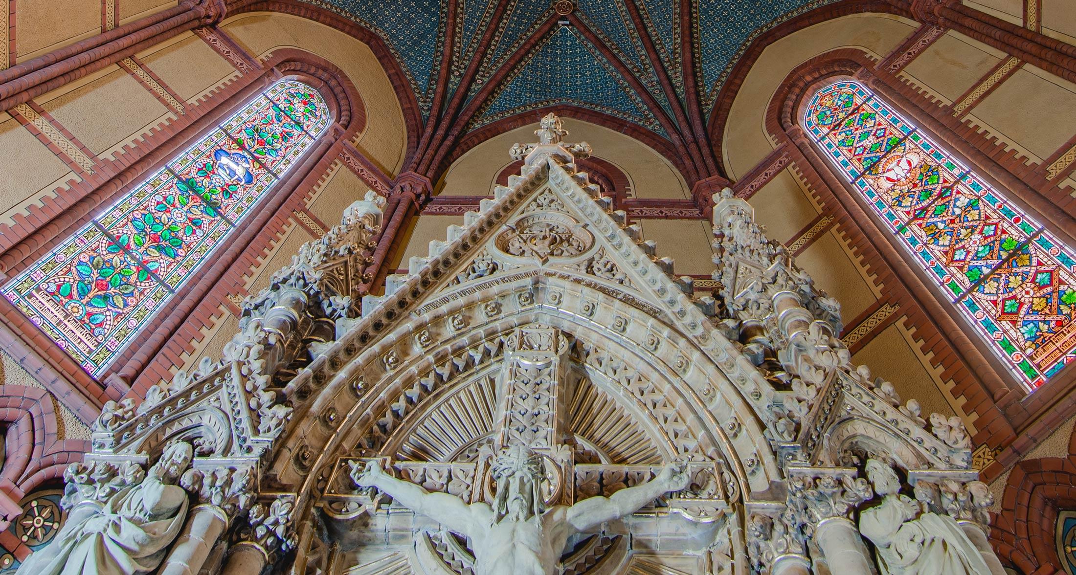 Restaurierung des Altars - Schlusszustand - Lutherkirche Apolda