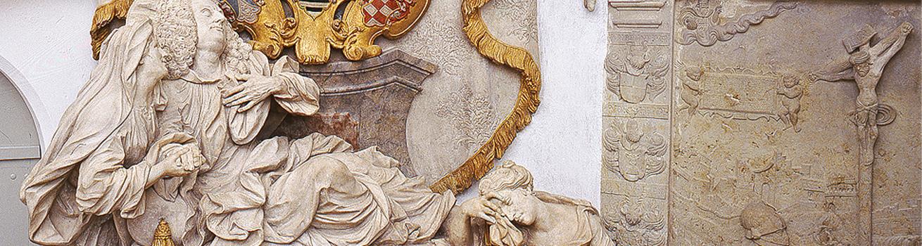 Restaurierung von gefassten Steinobjekten - Header
