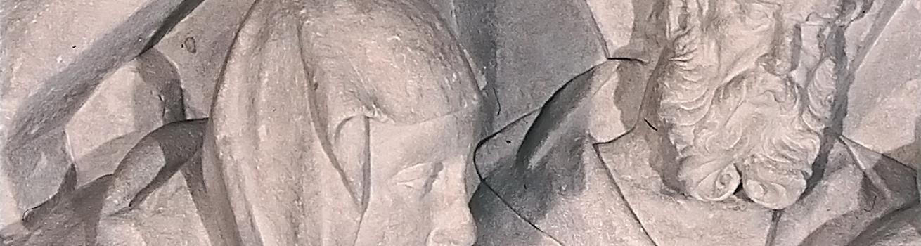 Restaurierung von ungefassten Steinobjekten - Header