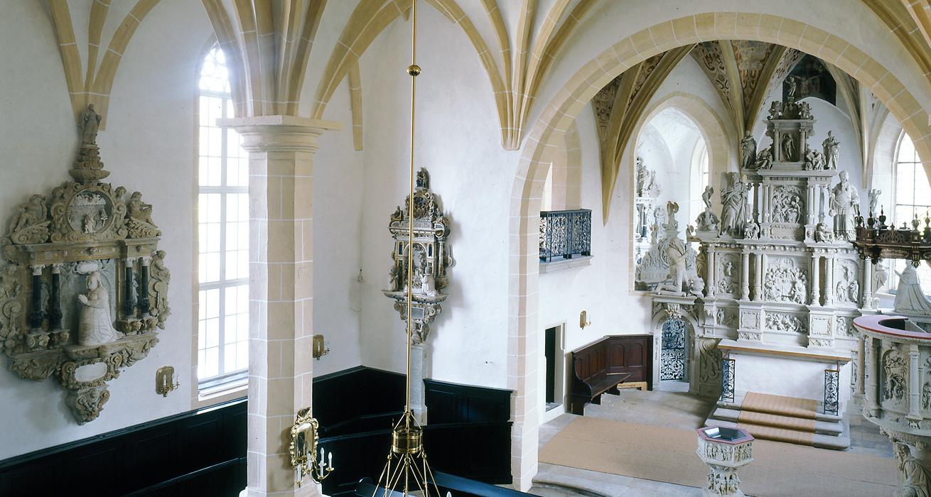 Restaurierung Hauptaltar - St. Marien und Laurentin, Lauenstein