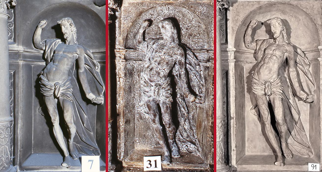 Abnahme der Verrußung - St. Marien und Laurentin, Lauenstein