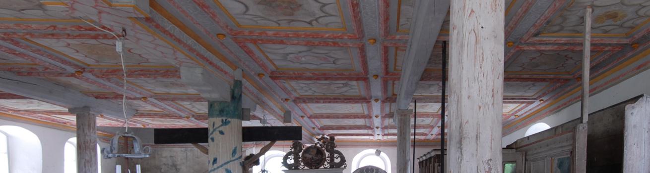 Restaurierung von Holzelementen - Header