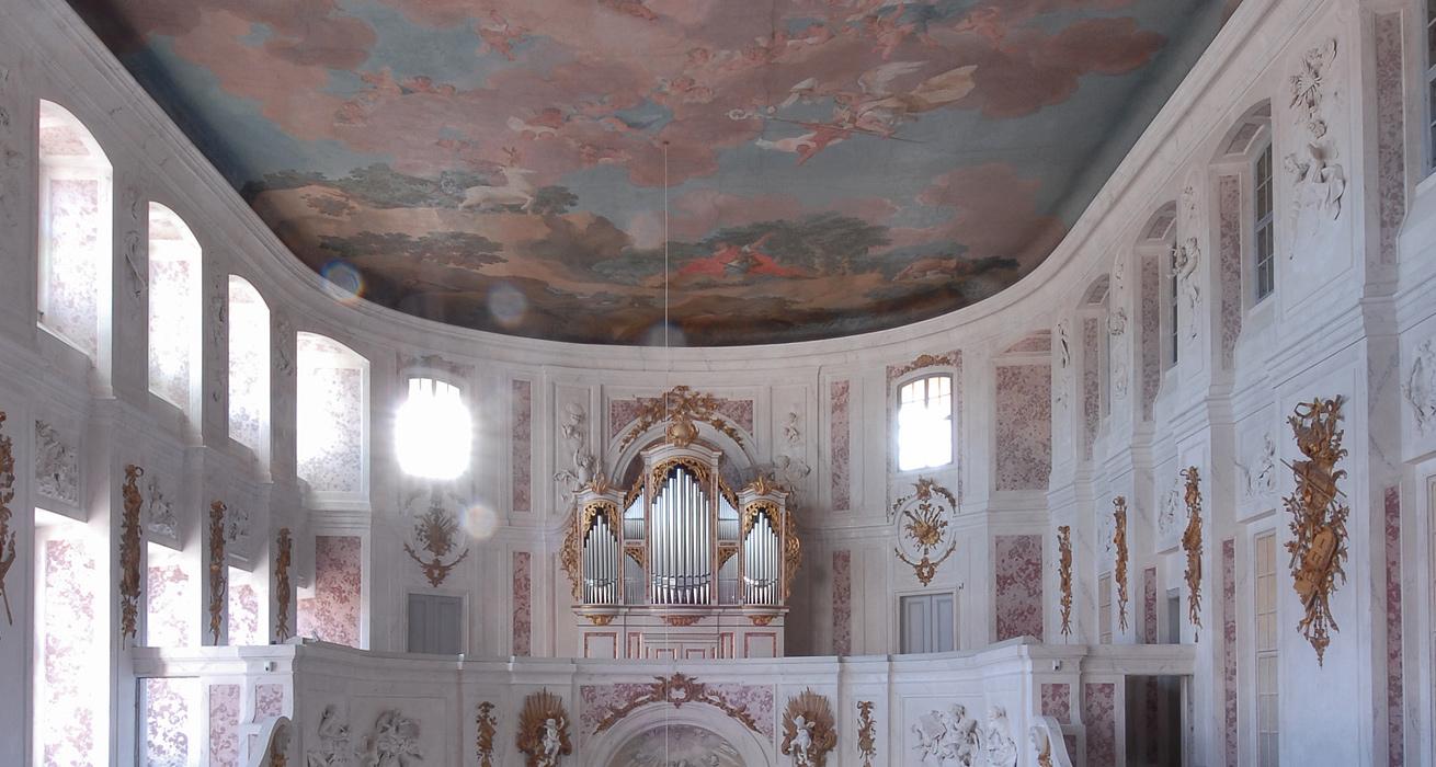 Restaurierung der katholischen Pfarrkirche - Schlossanlage Hubertusburg, Wermsdorf