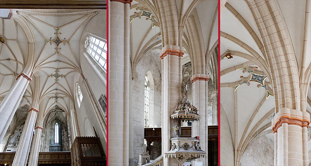 Impressionen aus dem fertiggestellten Kirchenraum - St. Bonifatius Kirche Bad Langensalza