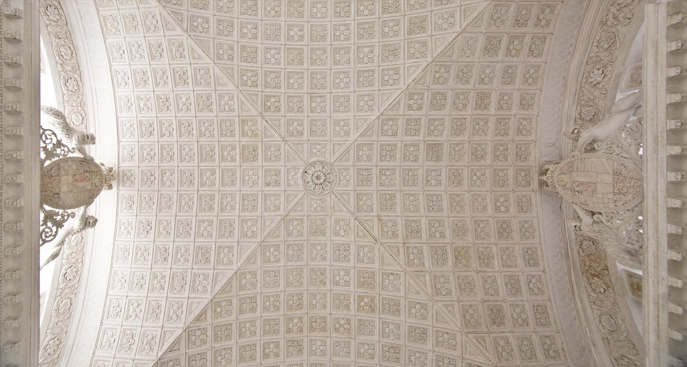 Zentraler Deckenbereich – Übersichtsaufnahme Schlusszustand