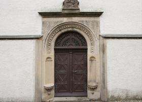 St. Marien und Laurentin zu Lauenstein - Restaurierung Eingangsportal