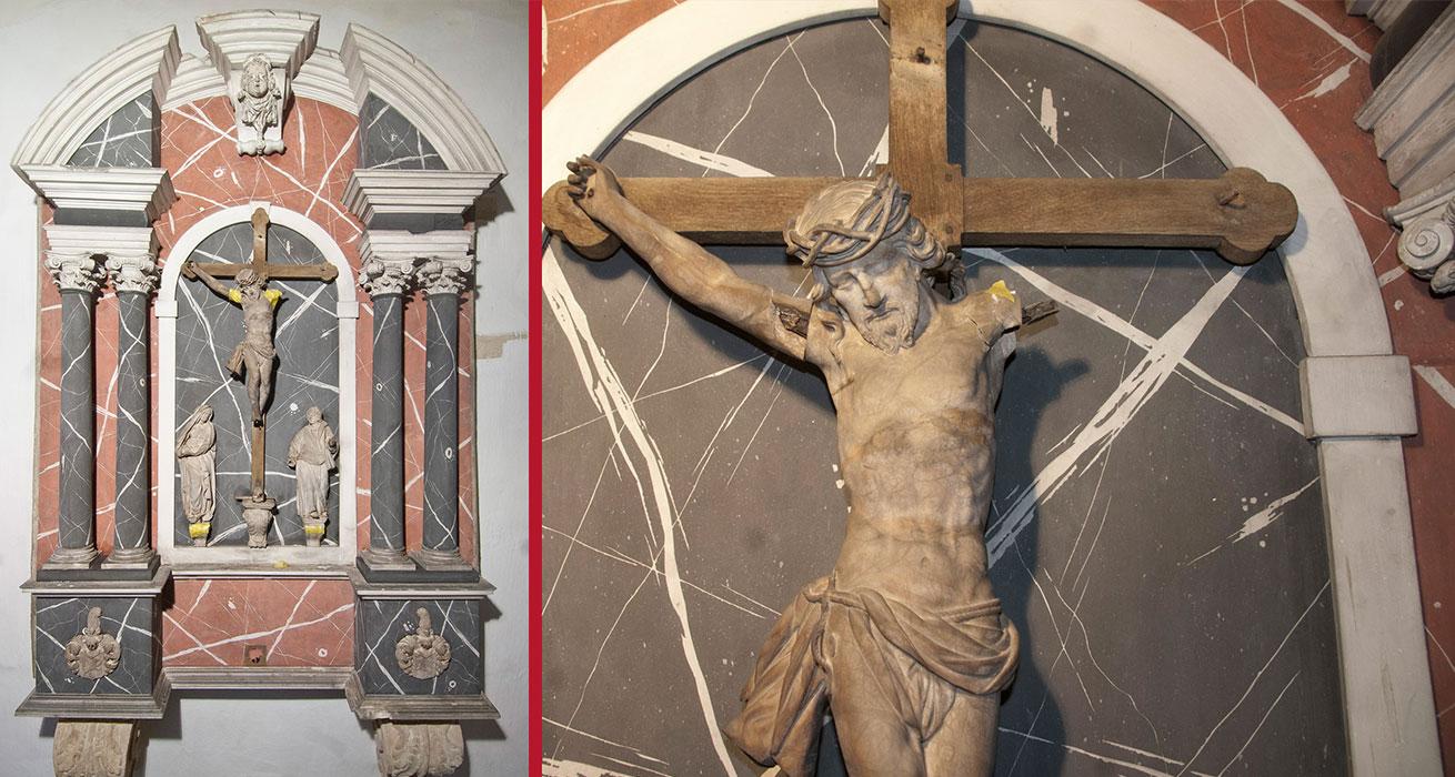 Dom St. Marien zu Freiberg - Schönbergkapelle Restaurierung Epitaph J.H. Böhme d. Ältere um 1671/72